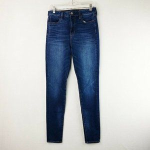 American Eagle Outfitters Super Hi-Rise Jeggings 8
